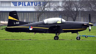 A picture of L03 - Pilatus PC7 -  - © Mirko Bleuer