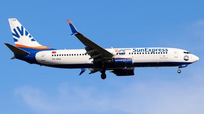 A picture of TCSOA - Boeing 7378HC - SunExpress - © Lorenz Kafenda