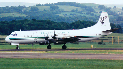 G-LOFA - Lockheed L-188C(F) Electra  - Atlantic Airlines