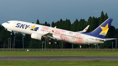 JA73NU - Boeing 737-86N - Skymark Airlines