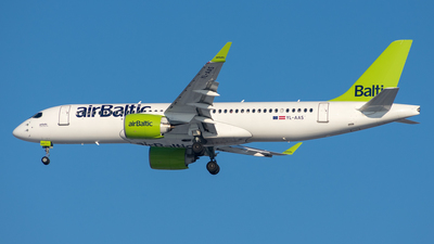 A picture of YLAAS - Airbus A220300 - Air Baltic - © Aleksandr Alekhichev