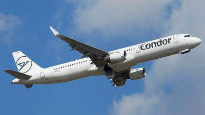 A picture of DATCG - Airbus A321211 - Condor - © Alexander Schürmann