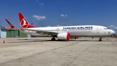 A picture of TCLCE - Boeing 737 MAX 8 - Turkish Airlines - © Firat Cimenli