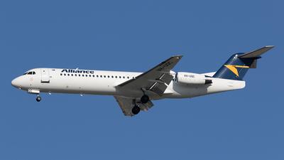 VH-UQC - Fokker 100 - Alliance Airlines