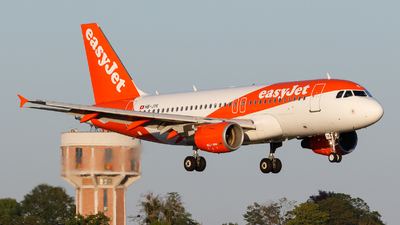 A picture of HBJYK - Airbus A319111 - easyJet - © Kelvin Jahae