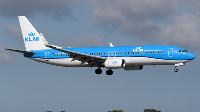 A picture of PHBXA - Boeing 7378K2 - KLM - © Ian McGregor