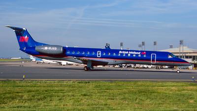 G-RJXD - Embraer ERJ-145EP - British Midland