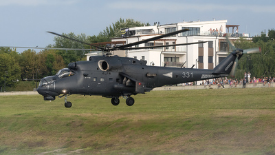 331 - Mil Mi-24P Hind F - Hungary - Air Force
