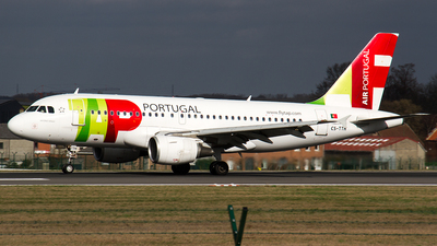 A picture of CSTTH - Airbus A319111 - TAP Air Portugal - © Sotos
