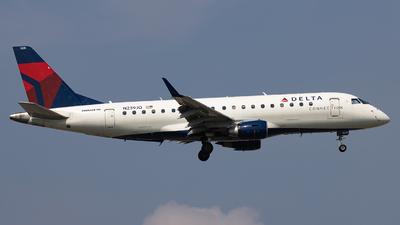 N239JQ - Embraer 170-200LR - Delta Connection (Republic Airlines)