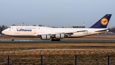 D-ABYG - Boeing 747-830 - Lufthansa