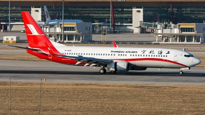 B-1949 - Boeing 737-89P - Shanghai Airlines