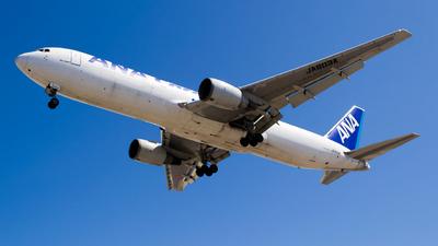 JA603A - Boeing 767-381F(ER) - ANA Cargo