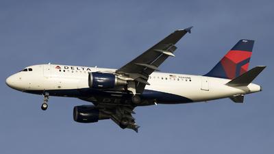 N344NB - Airbus A319-114 - Delta Air Lines