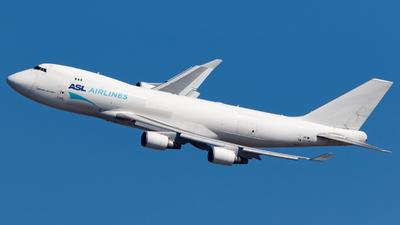 OO-THD - Boeing 747-4HAERF - ASL Airlines