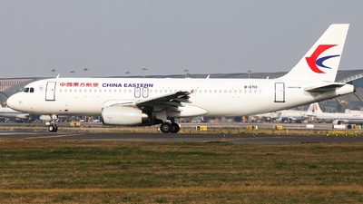 A picture of B6713 - Airbus A320232 - China Eastern Airlines - © Undershrpened_DF767