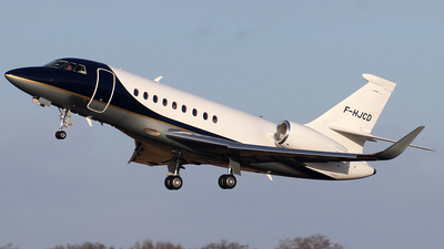 F-HJCD - Dassault Falcon 2000LX - Private