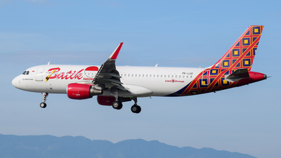PK-LUG - Airbus A320-214 - Batik Air - Flightradar24