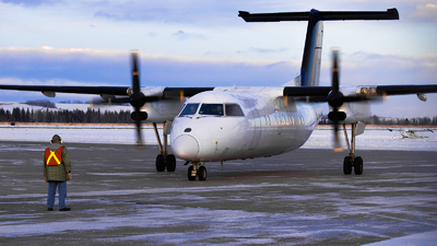 C-FDNG - Bombardier Dash 8-102 - Central Mountain Air