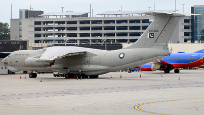 R10-002 - Ilyushin IL-78M Midas - Pakistan - Air Force