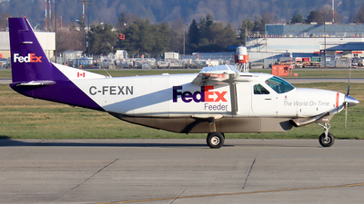 A picture of CFEXN - Cessna 208B Grand Caravan - FedEx - © YoungKyun Shin