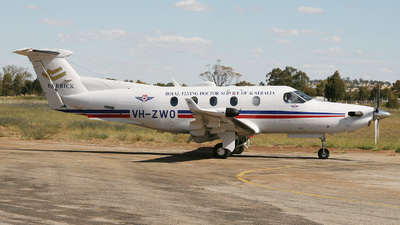 VH-ZWO - Pilatus PC-12/45 - Royal Flying Doctor Service of Australia (Western Operations)
