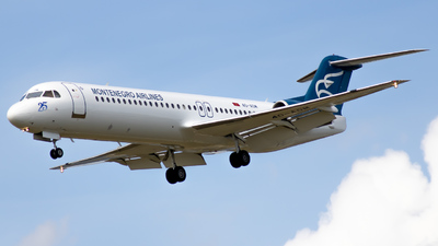 A picture of 4OAOM - Fokker 100 - Montenegro Airlines - © Tobias Green