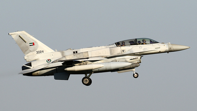 3024 - Lockheed Martin F-16 Fighting Falcon - United Arab Emirates - Air Force