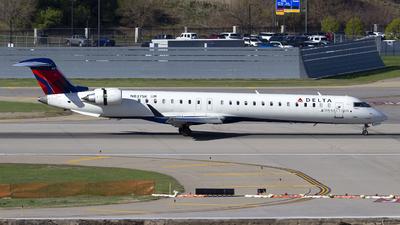 A picture of N837SK - Mitsubishi CRJ900LR - Delta Air Lines - © Jeremy D. Dando