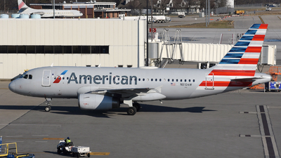 A picture of N810AW - Airbus A319132 - American Airlines - © DJ Reed - OPShots Photo Team