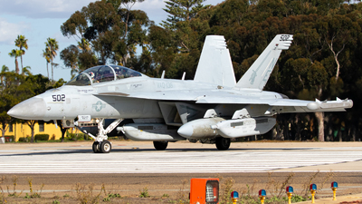 166936 - Boeing EA-18G Growler  - United States - US Navy (USN)