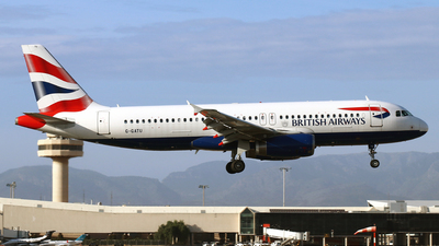 G-GATU - Airbus A320-232 - British Airways