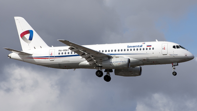 A picture of RA89117 - Sukhoi Superjet 10095B - Severstal Aircompany - © SN7756