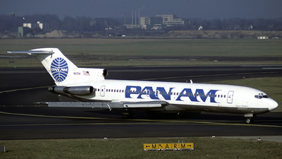 N4754 - Boeing 727-235 - Pan Am
