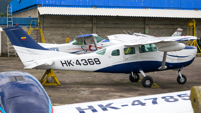 HK-4368 - Cessna TU206F Turbo Stationair - Private