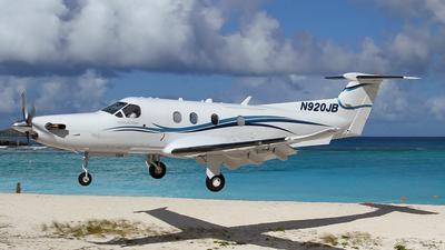 N920JB - Pilatus PC-12/47E - Private