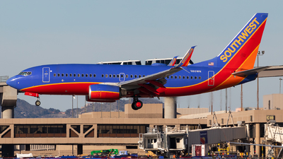 N260WN - Boeing 737-7H4 - Southwest Airlines