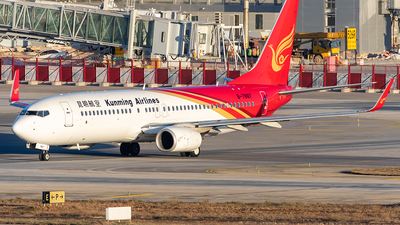 B-7887 - Boeing 737-8XY - Kunming Airlines