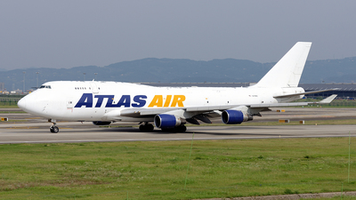 A picture of N471MC - Boeing 747412(BCF) - Atlas Air - © BCG554