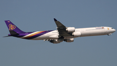 HS-TNC - Airbus A340-642 - Thai Airways International