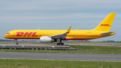A picture of GDHKC - Boeing 757256(PCF) - DHL - © bertrand leduc