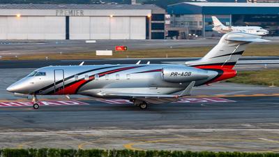 A picture of PRADB - Bombardier Challenger 300 - [20325] - © fachetti_spotter