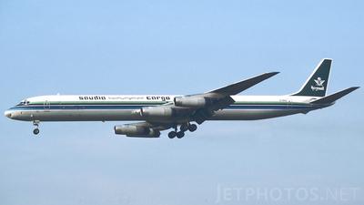 EI-BNA - Douglas DC-8-63(CF) - Saudia Cargo (Aer Turas)