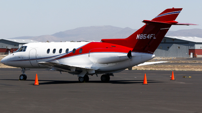 N854FL - Raytheon Hawker 800XP - Private