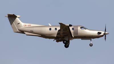 LX-JFF - Pilatus PC-12/47E - Jetfly Aviation