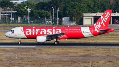 A picture of RPC8976 - Airbus A320216 - AirAsia - © songxiuming