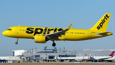 A picture of N910NK - Airbus A320271N - Spirit Airlines - © Carlos Barcelo