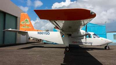 N901GD - Britten-Norman BN-2A-26 Islander - Air Flamenco