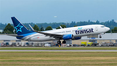 C-FYQN - Boeing 737-8AS - Air Transat