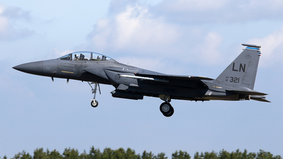 91-0321 - McDonnell Douglas F-15E Strike Eagle - United States - US Air Force (USAF)